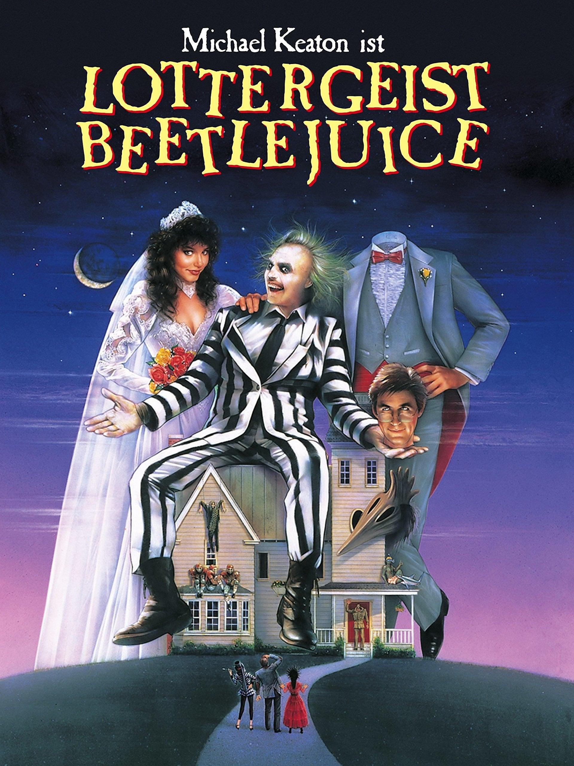 """Plakat von """"Beetlejuice"""""""