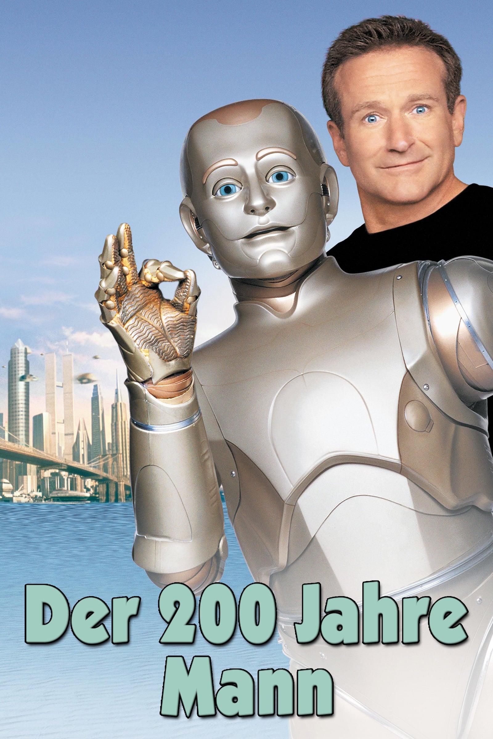 """Plakat von """"Der 200 Jahre Mann"""""""