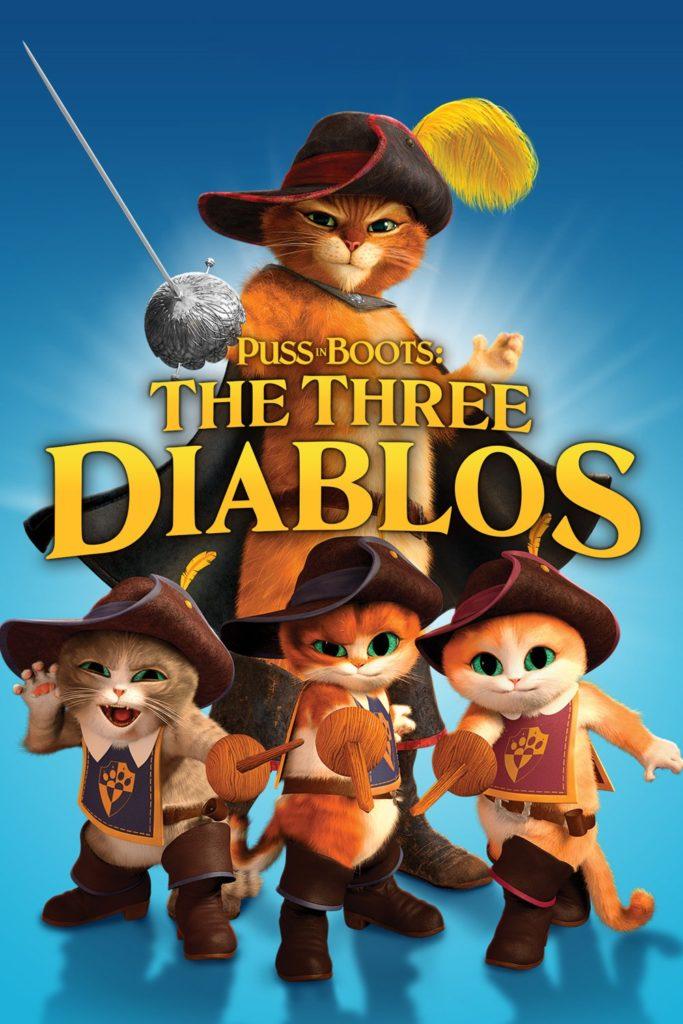 """Plakat von """"Der gestiefelte Kater - Die Drei Diabolos"""""""