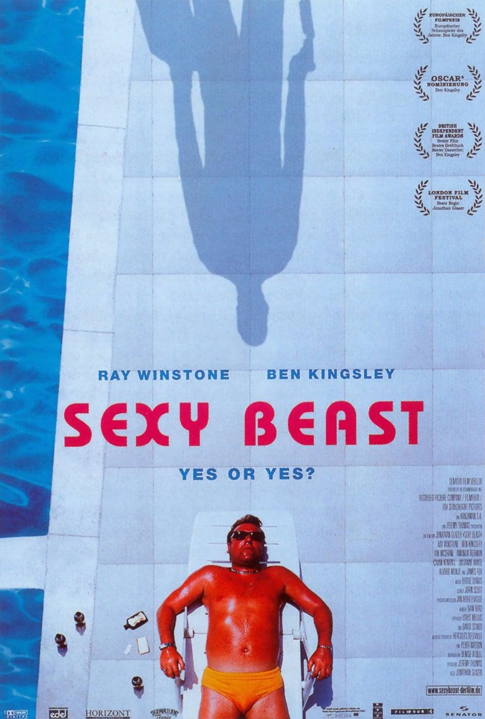 """Plakat von """"Sexy Beast"""""""