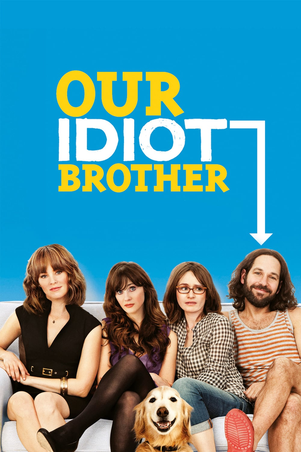 "Plakat von ""Our Idiot Brother"""