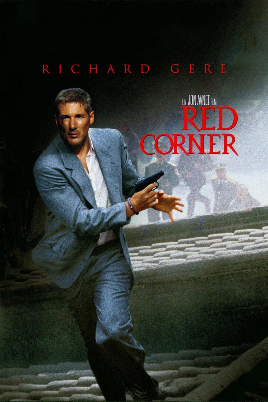 """Plakat von """"Red Corner - Labyrinth ohne Ausweg"""""""