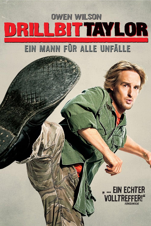 """Plakat von """"Drillbit Taylor - Ein Mann für alle Unfälle"""""""
