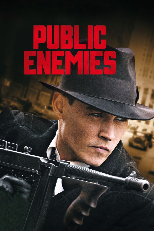 """Plakat von """"Public Enemies"""""""