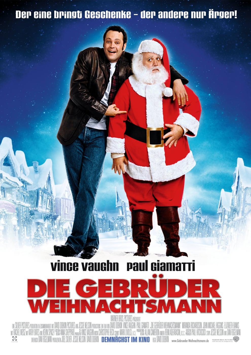 """Plakat von """"Die Gebrüder Weihnachtsmann"""""""