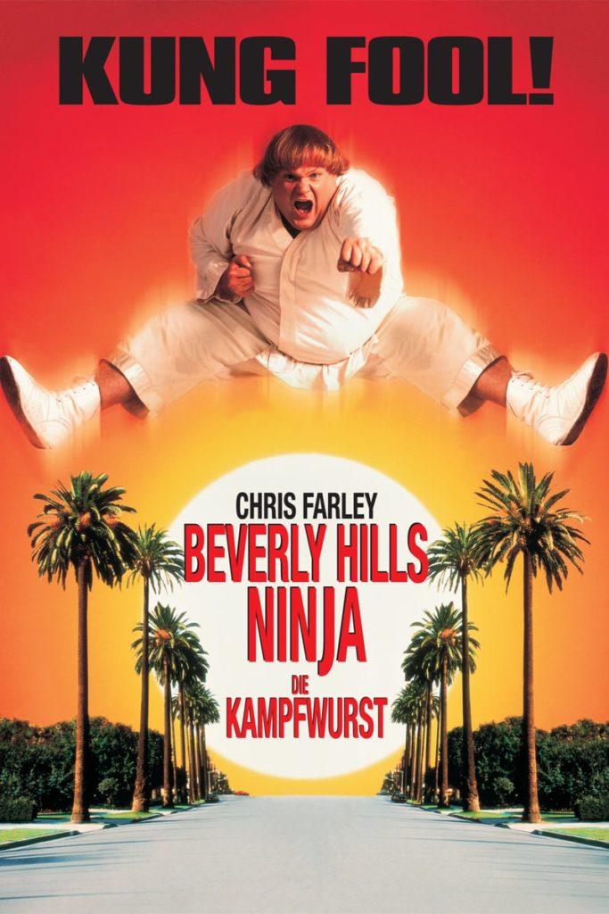 """Plakat von """"Beverly Hills Ninja - Die Kampfwurst"""""""