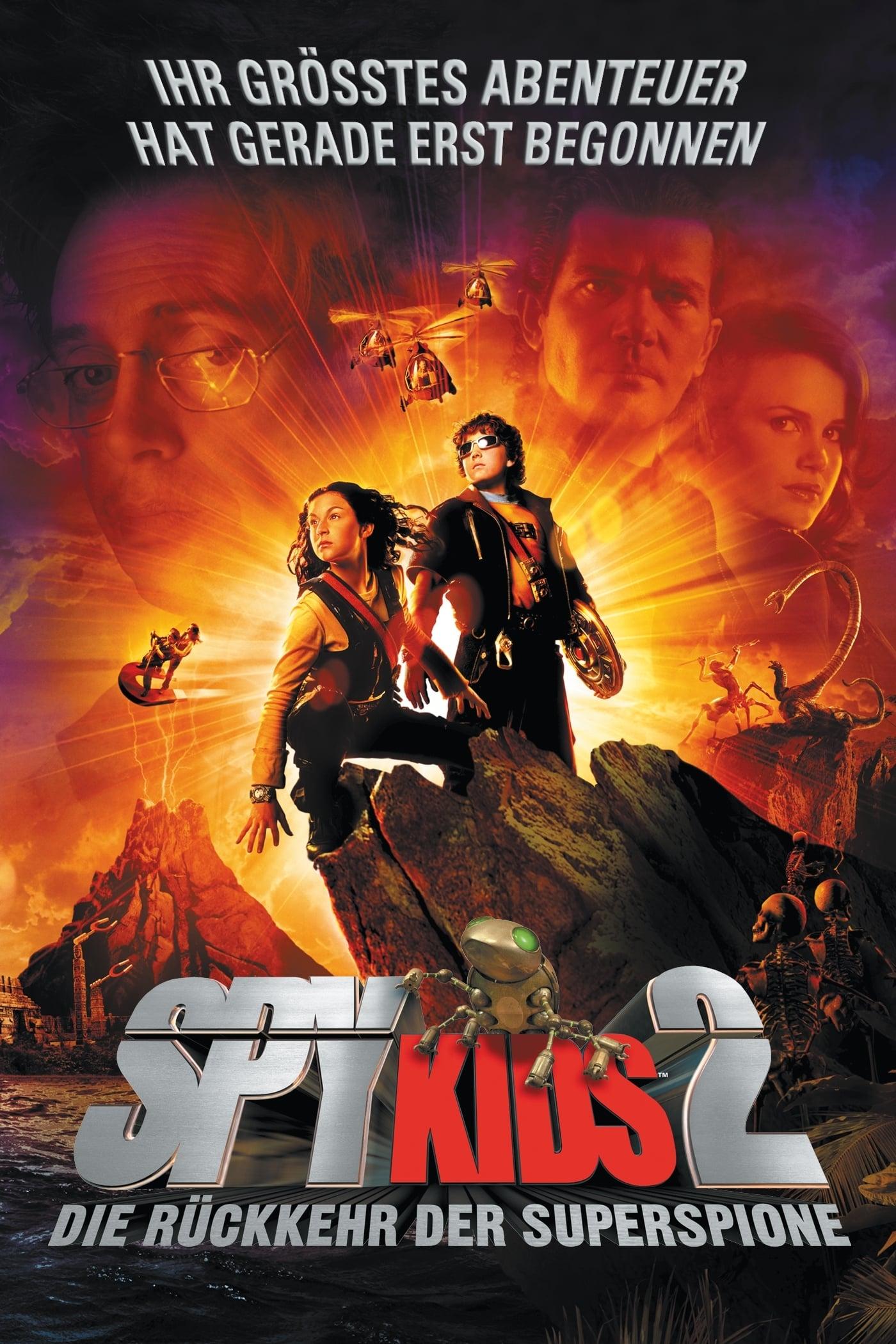 """Plakat von """"Spy Kids 2 - Die Rückkehr der Superspione"""""""