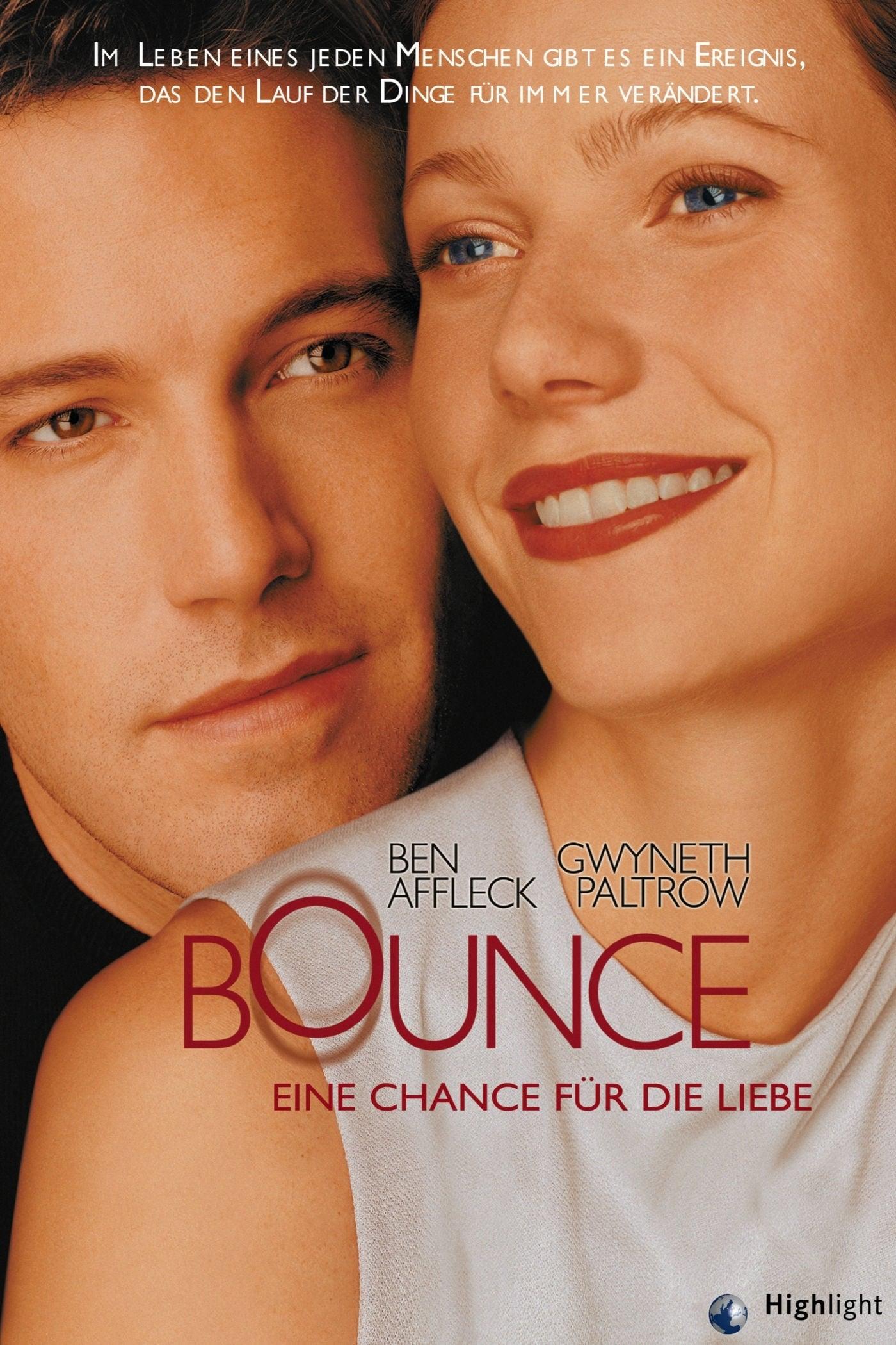 """Plakat von """"Bounce - Eine Chance für die Liebe"""""""