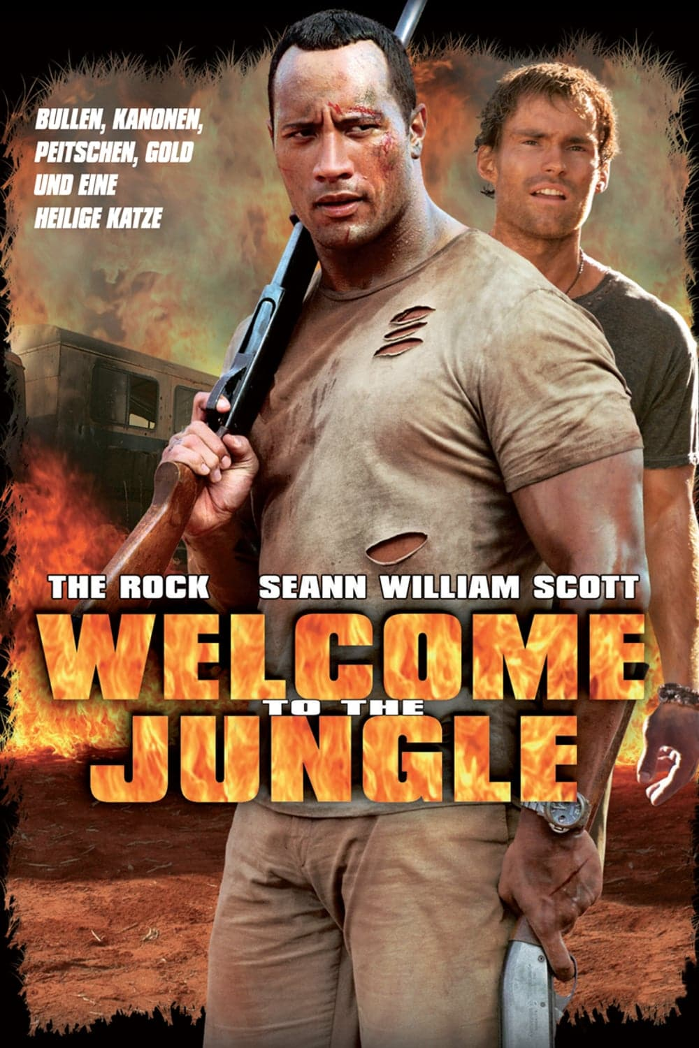 """Plakat von """"Welcome to the Jungle"""""""