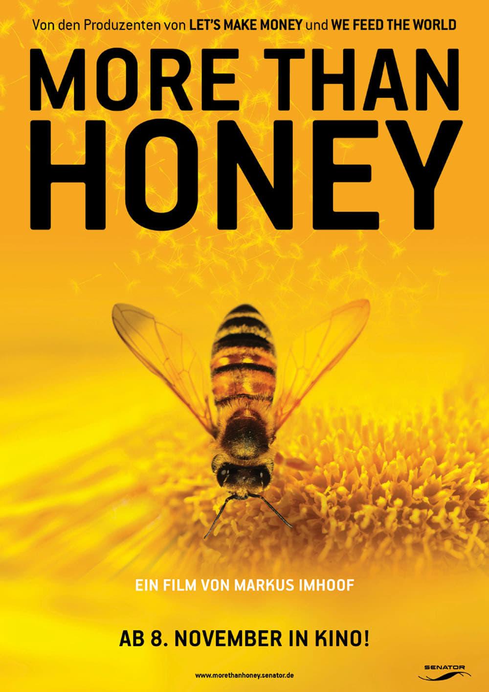 """Plakat von """"More than Honey - Bitterer Honig"""""""