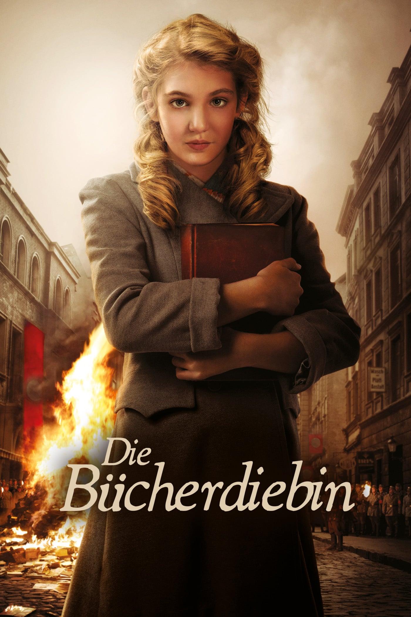 """Plakat von """"Die Bücherdiebin"""""""
