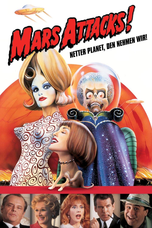 """Plakat von """"Mars Attacks!"""""""