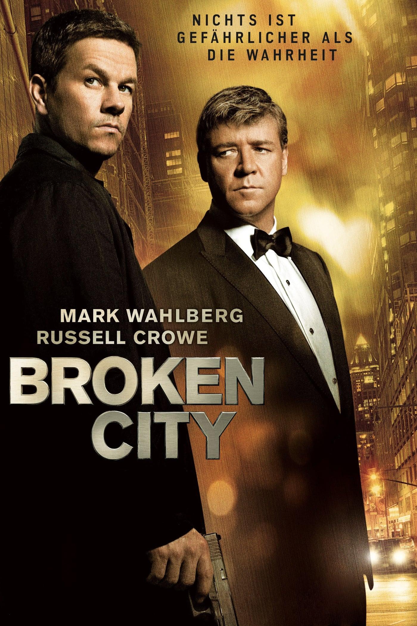 """Plakat von """"Broken City"""""""