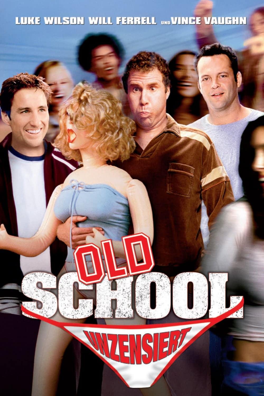 """Plakat von """"Old School - Wir lassen absolut nichts anbrennen"""""""