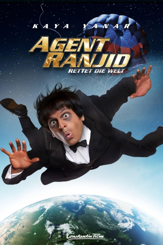 """Plakat von """"Agent Ranjid rettet die Welt"""""""
