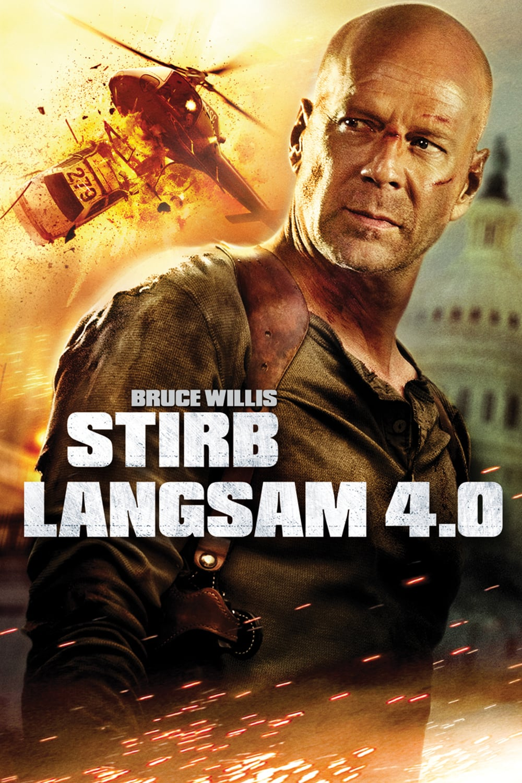 """Plakat von """"Stirb langsam 4.0"""""""
