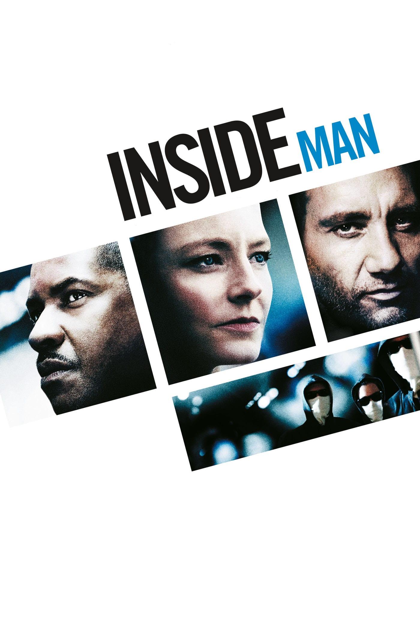 """Plakat von """"Inside Man"""""""