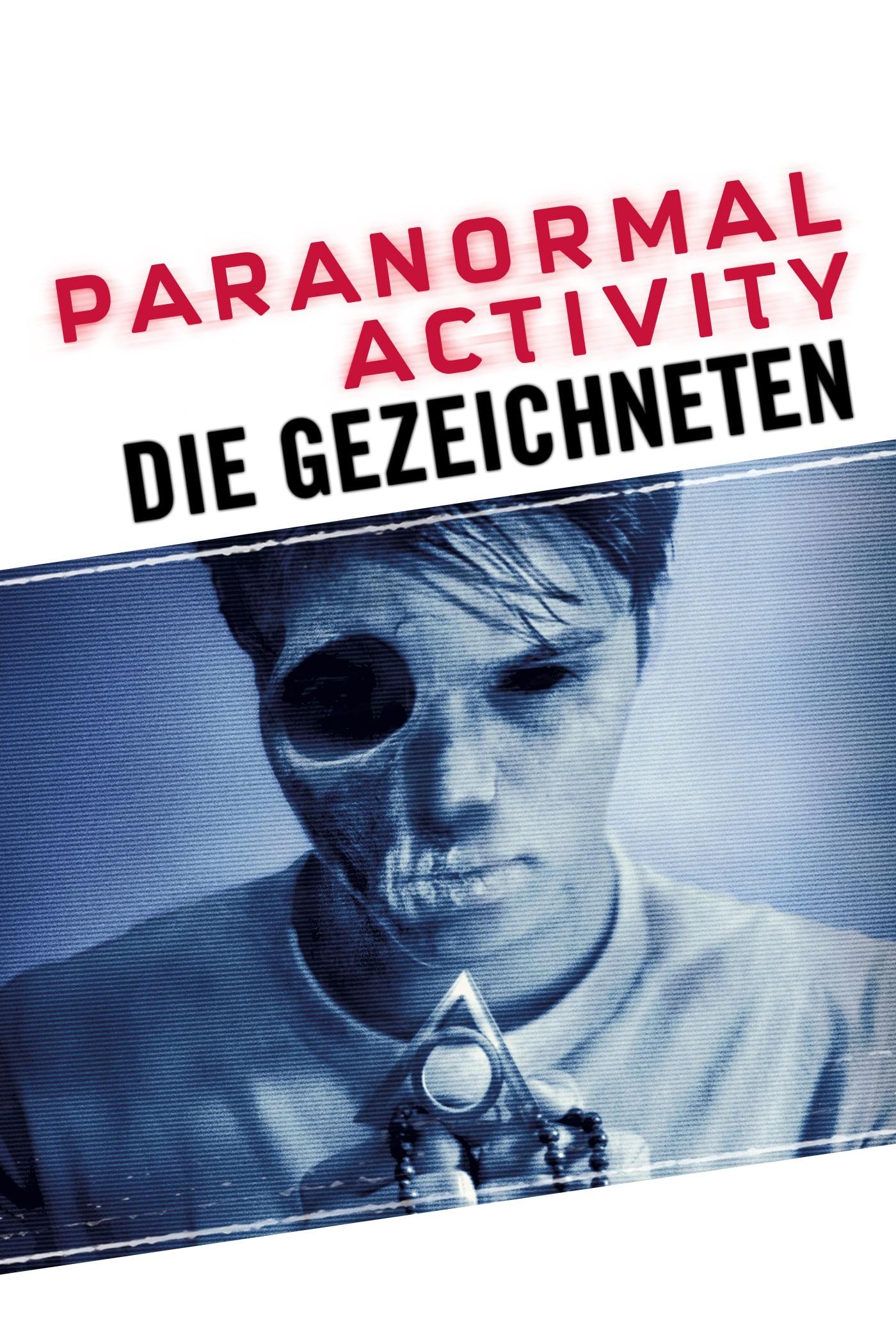 """Plakat von """"Paranormal Activity - Die Gezeichneten"""""""