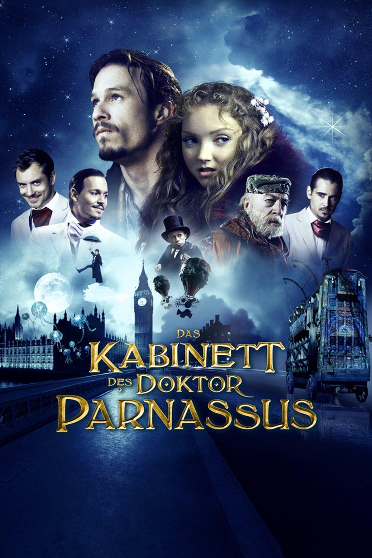 """Plakat von """"Das Kabinett des Doktor Parnassus"""""""