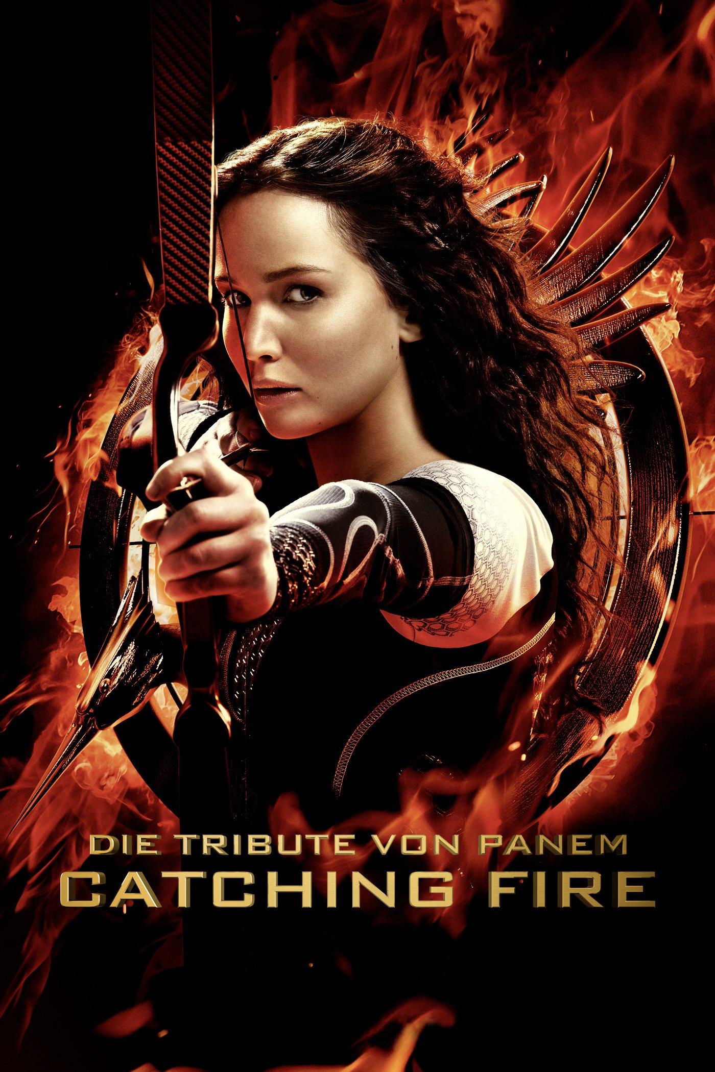 """Plakat von """"Die Tribute von Panem - Catching Fire"""""""