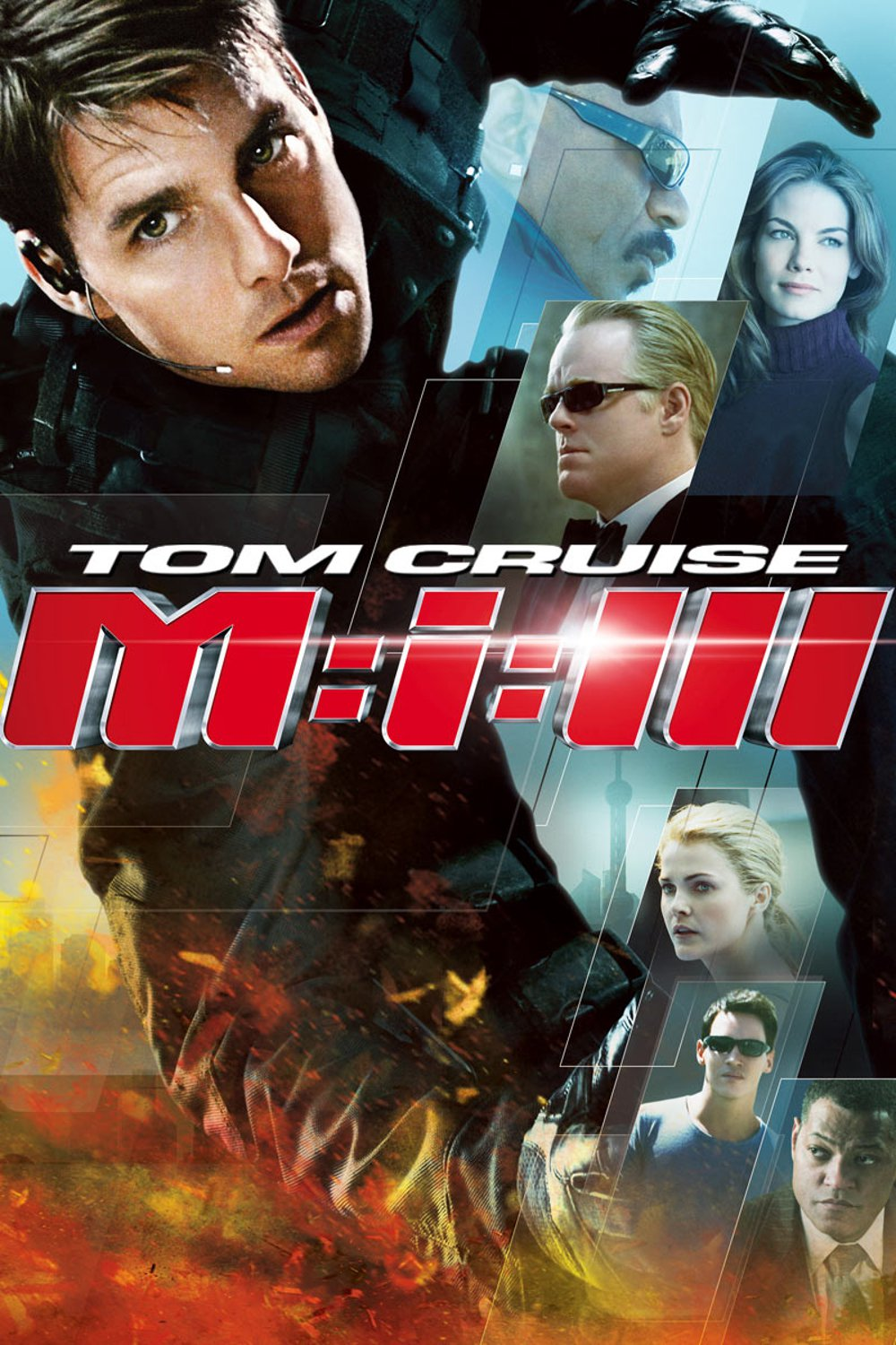 "Plakat von ""Mission: Impossible III"""