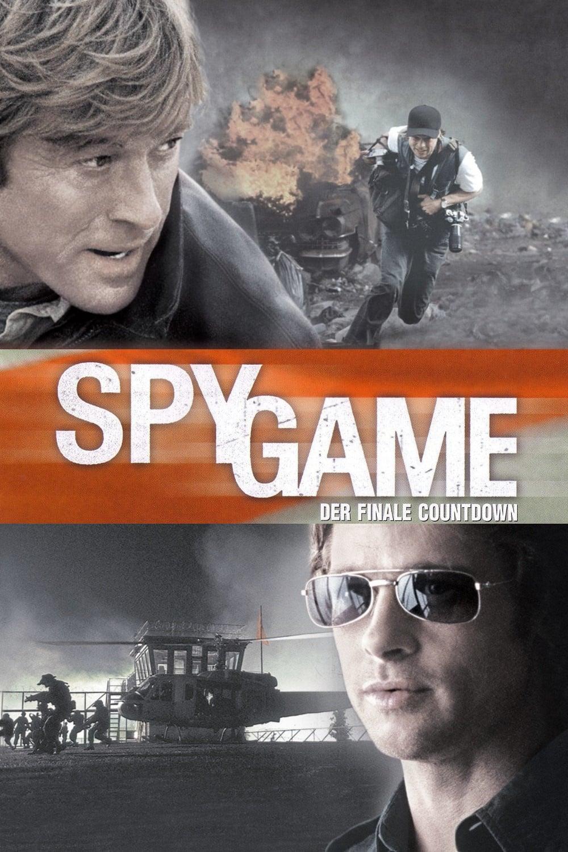 """Plakat von """"Spy Game - Der finale Countdown"""""""
