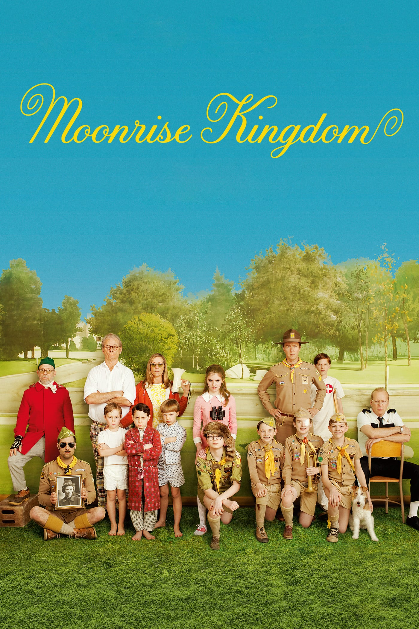 "Plakat von ""Moonrise Kingdom"""