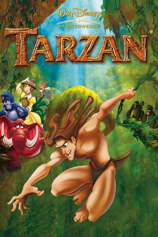 """Plakat von """"Tarzan"""""""