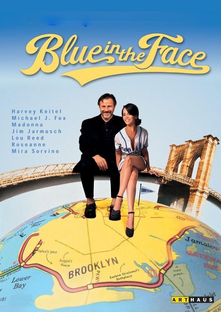 """Plakat von """"Blue in the Face"""""""