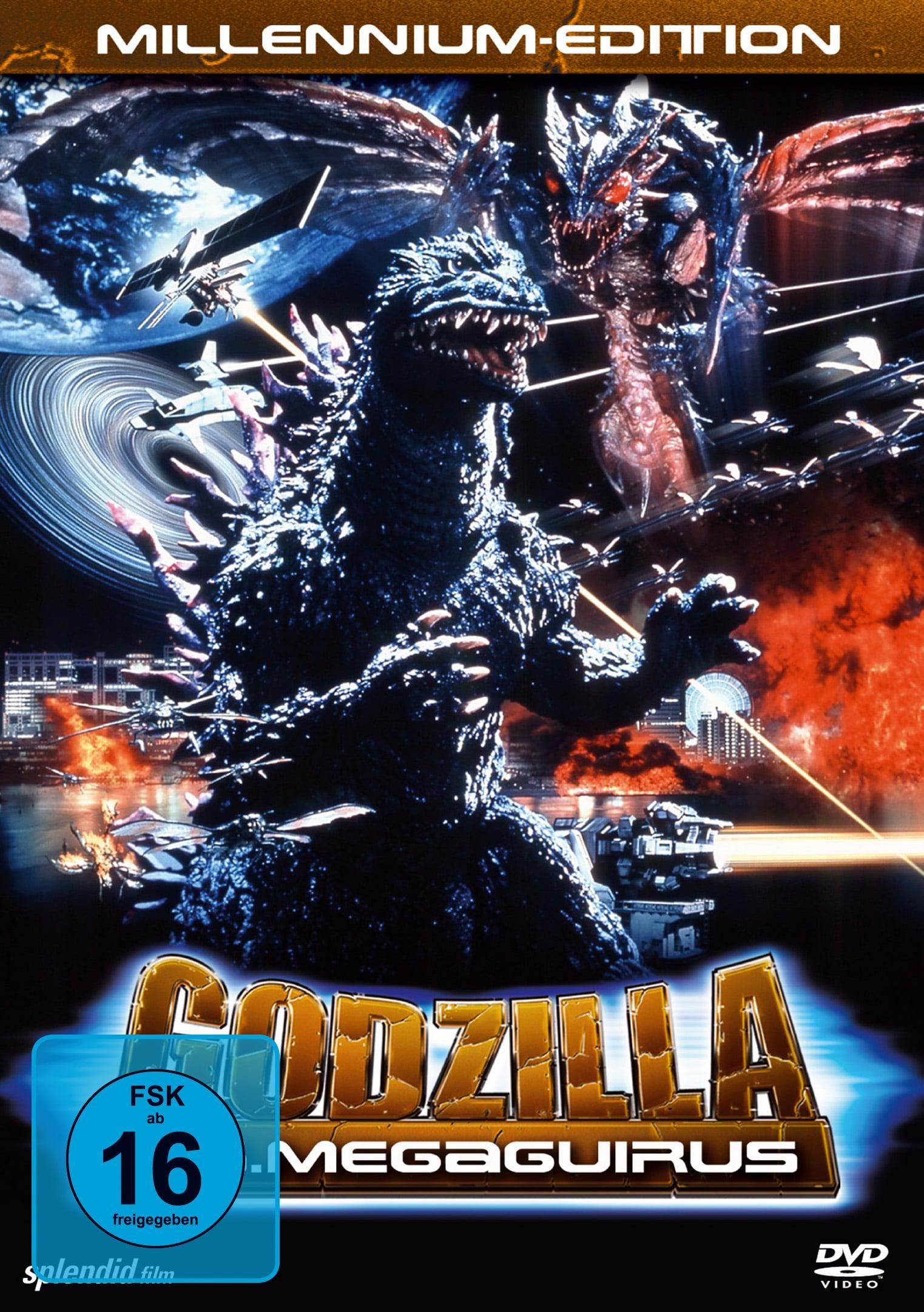 """Plakat von """"Godzilla vs. Megaguirus"""""""