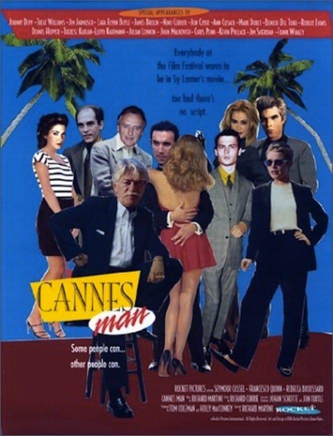 """Plakat von """"Cannes Man"""""""