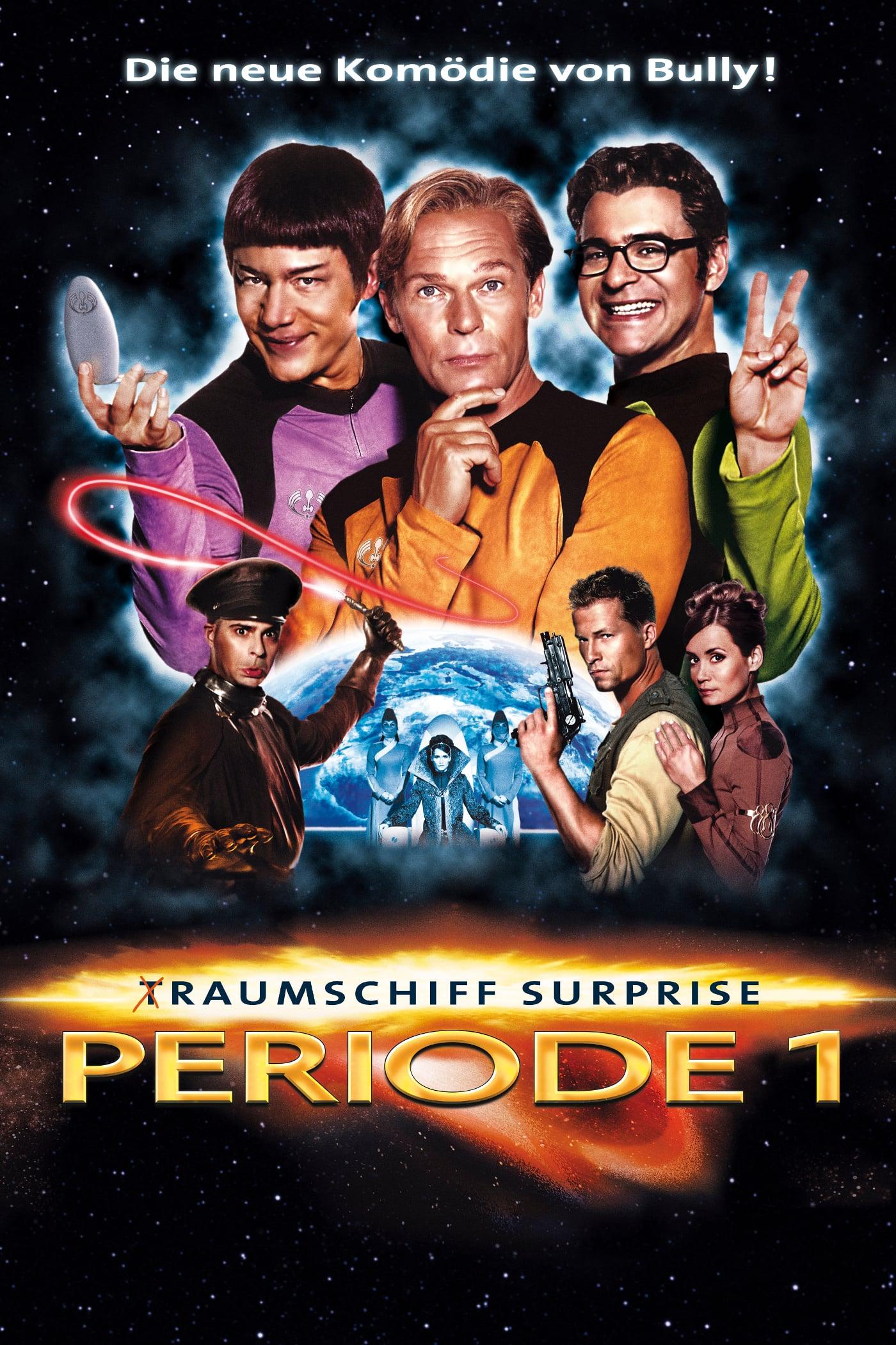 """Plakat von """"(T)Raumschiff Surprise - Periode 1"""""""