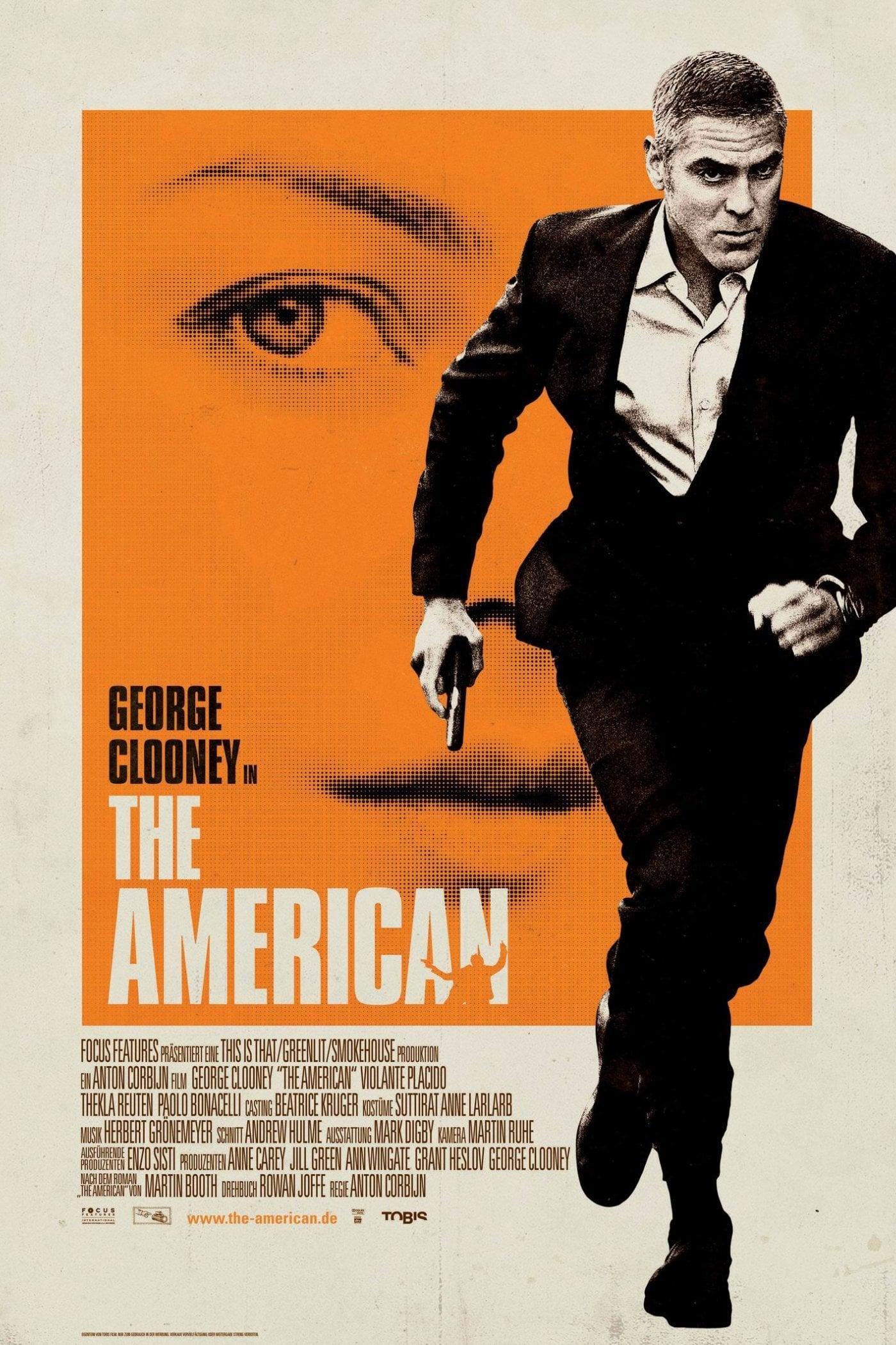 """Plakat von """"The American"""""""