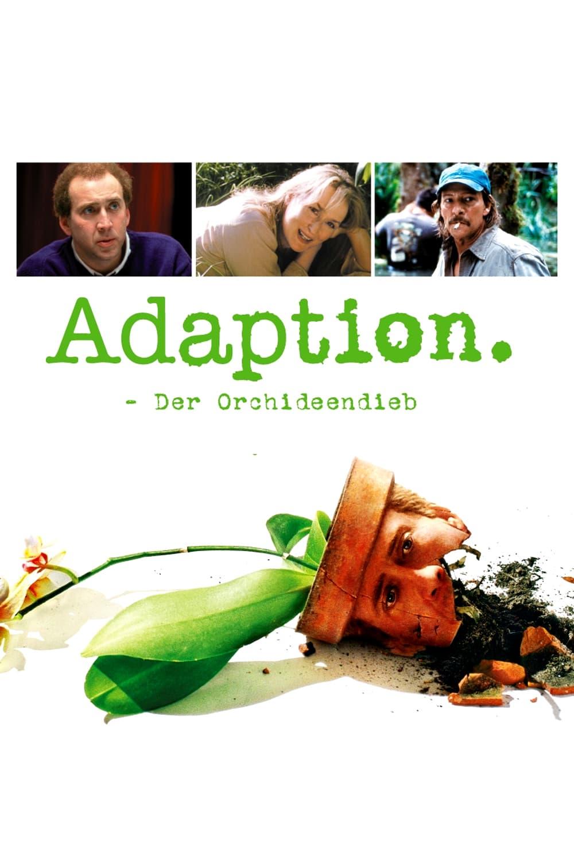 """Plakat von """"Adaption – Der Orchideen-Dieb"""""""