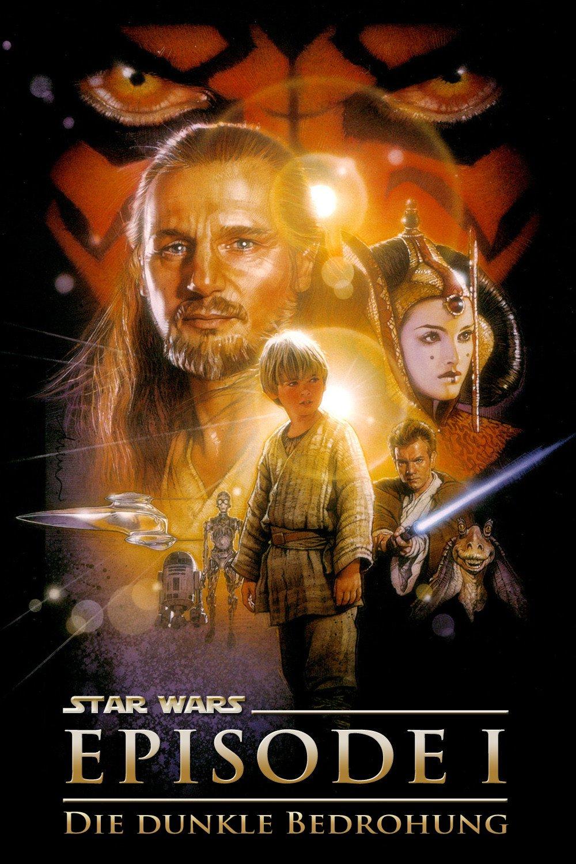 """Plakat von """"Star Wars: Episode I - Die dunkle Bedrohung"""""""
