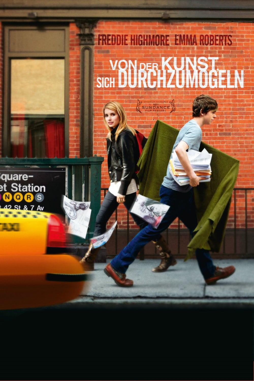 """Plakat von """"Von der Kunst, sich durchzumogeln"""""""