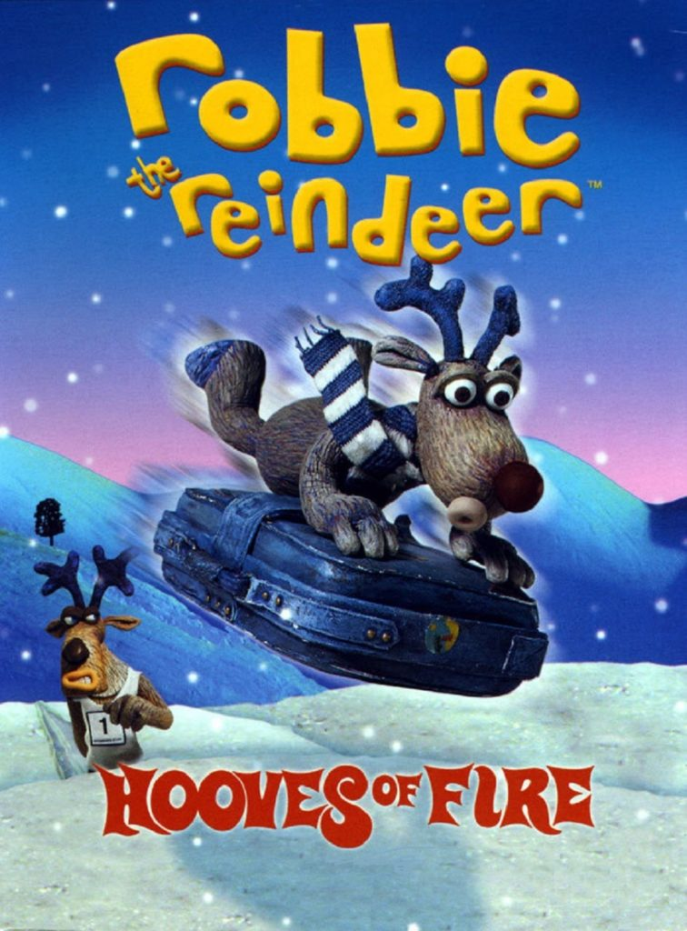 "Plakat von ""Robbie the Reindeer - Hooves of Fire"""