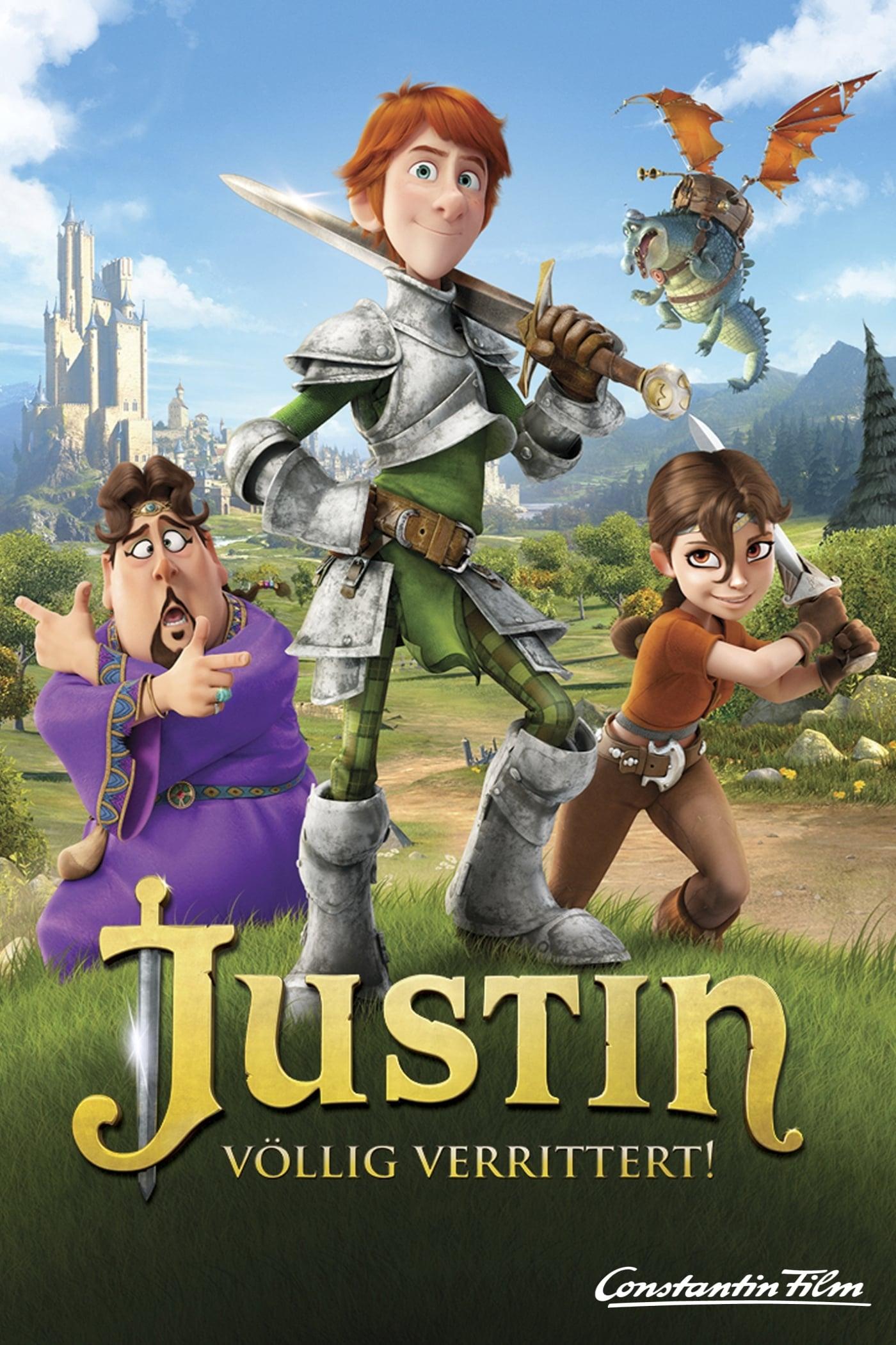"Plakat von ""Justin - völlig verrittert!"""
