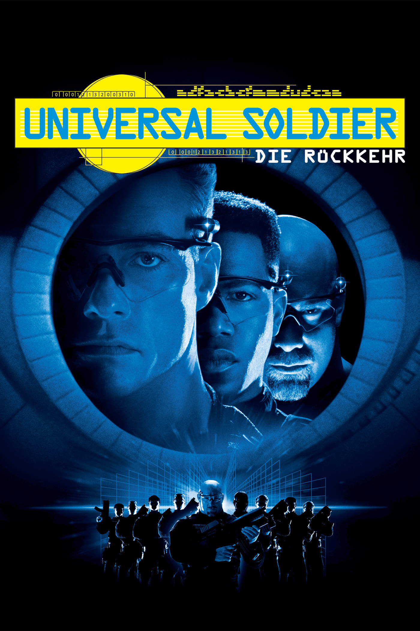 """Plakat von """"Universal Soldier - Die Rückkehr"""""""
