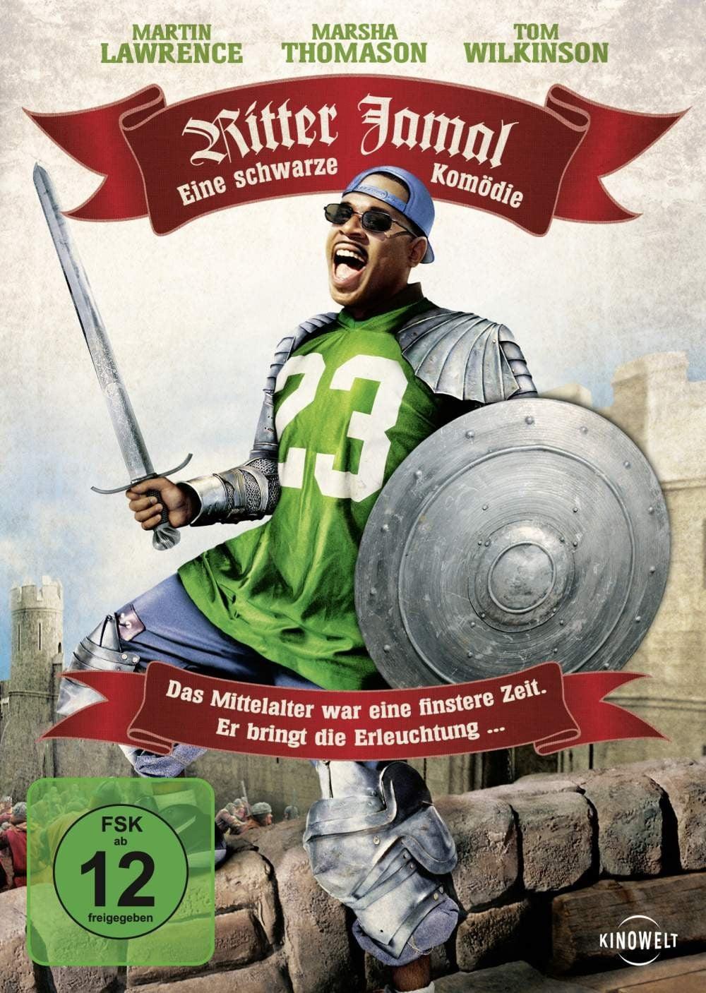 """Plakat von """"Ritter Jamal - Eine schwarze Komödie"""""""