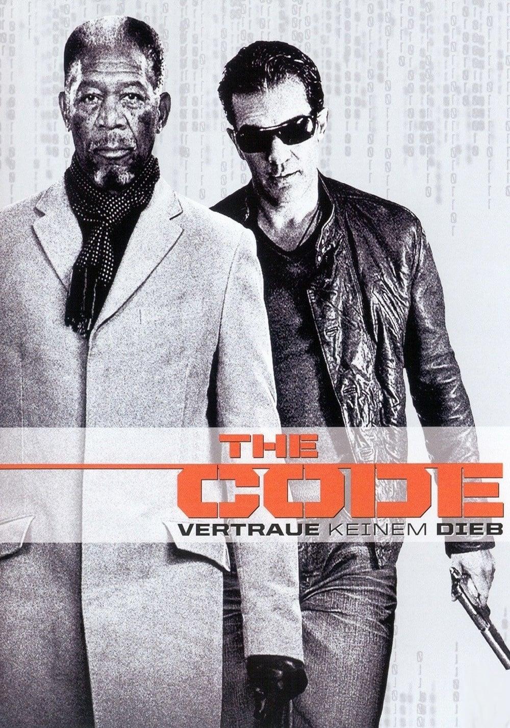"""Plakat von """"The Code - Vertraue keinem Dieb"""""""