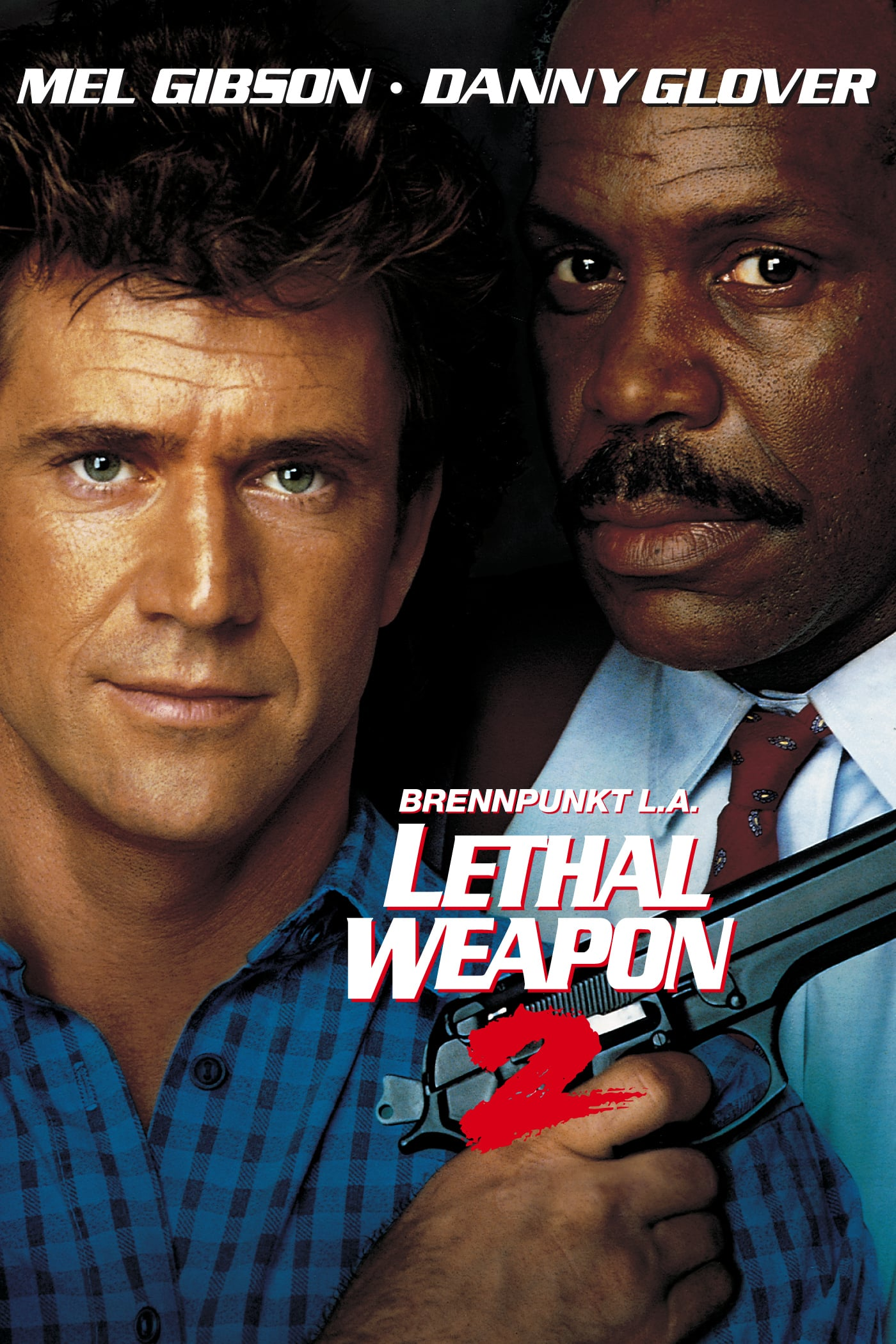"""Plakat von """"Lethal Weapon 2 - Brennpunkt L.A."""""""
