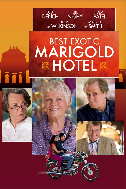 """Plakat von """"Best Exotic Marigold Hotel"""""""