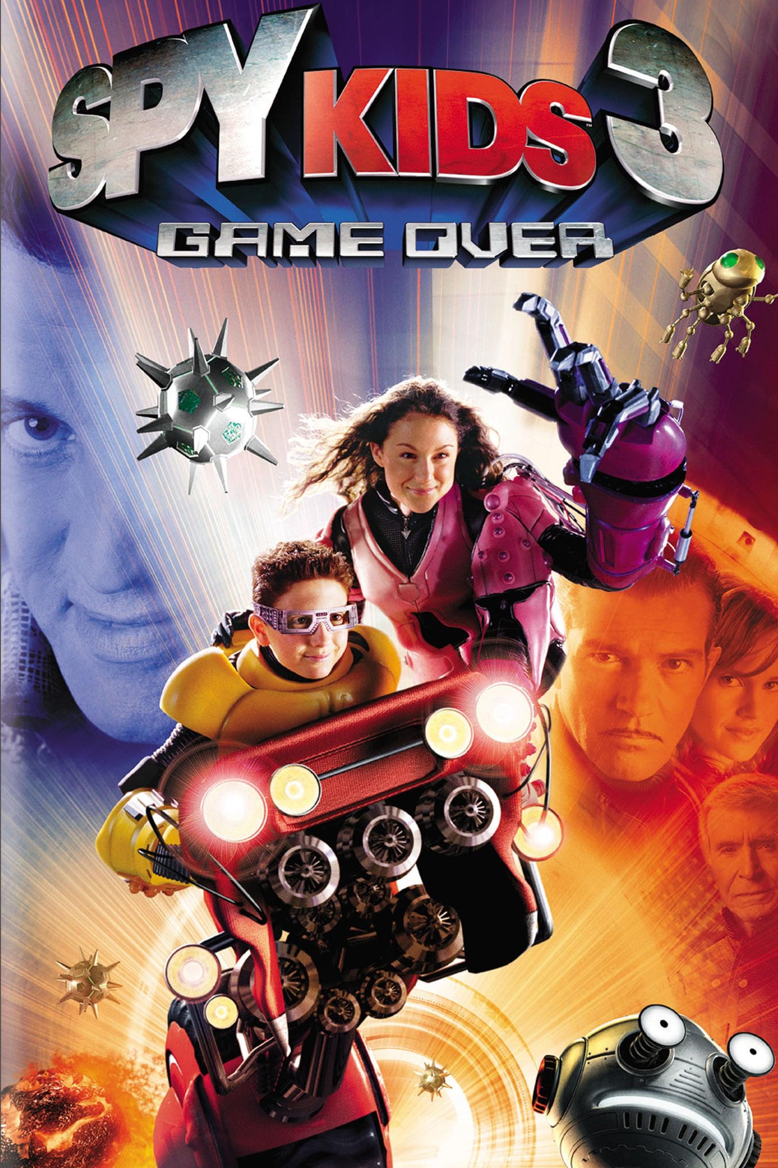 """Plakat von """"Spy Kids 3 - Game Over"""""""