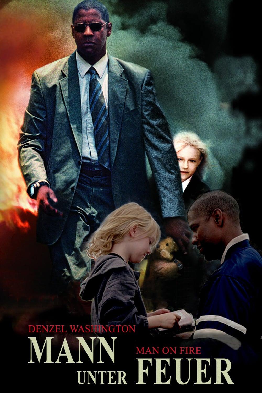 """Plakat von """"Mann unter Feuer"""""""