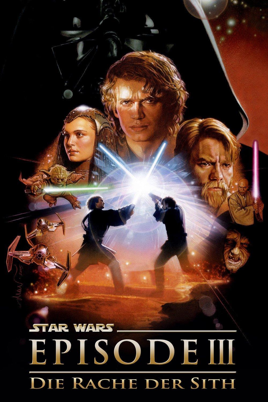 """Plakat von """"Star Wars: Episode III - Die Rache der Sith"""""""