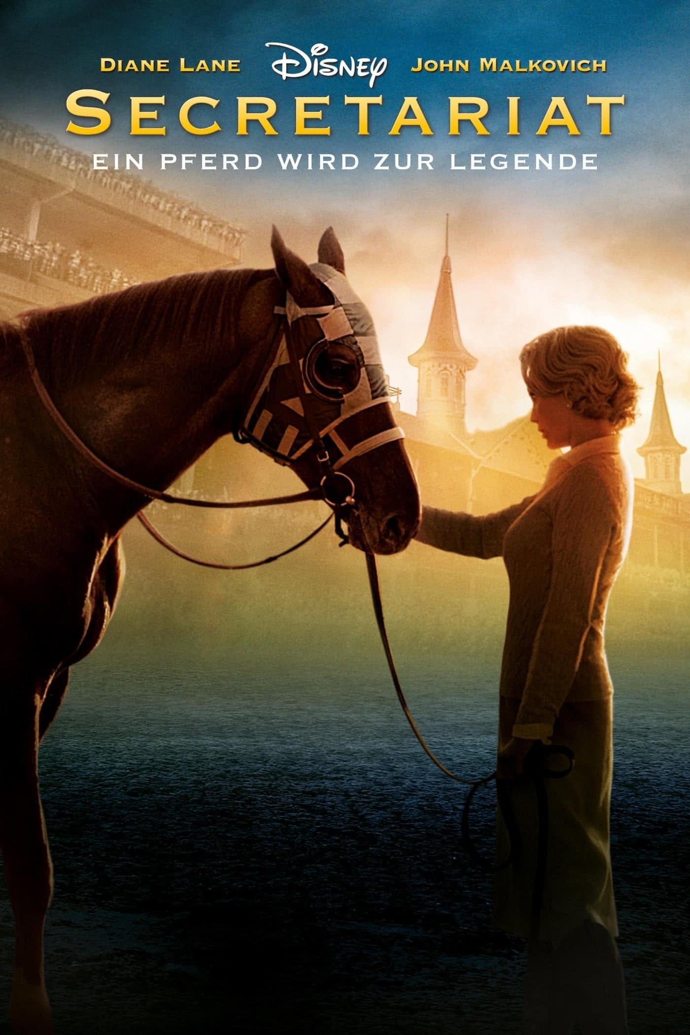 """Plakat von """"Secretariat - Ein Pferd wird zur Legende"""""""