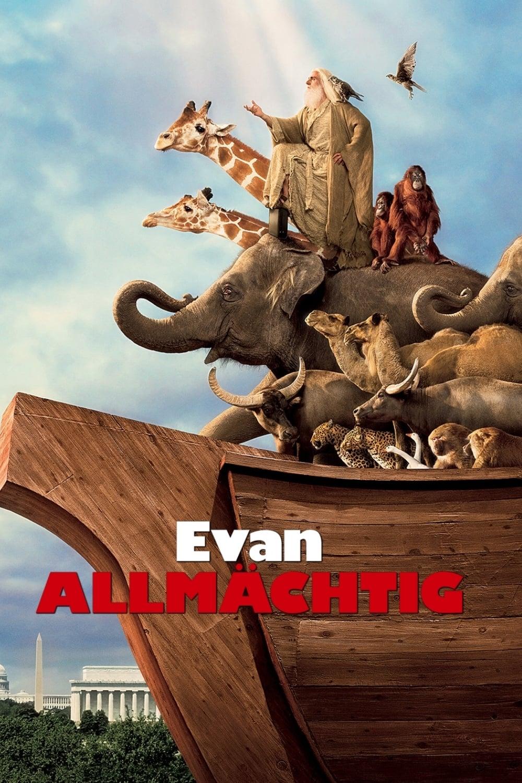 """Plakat von """"Evan Allmächtig"""""""