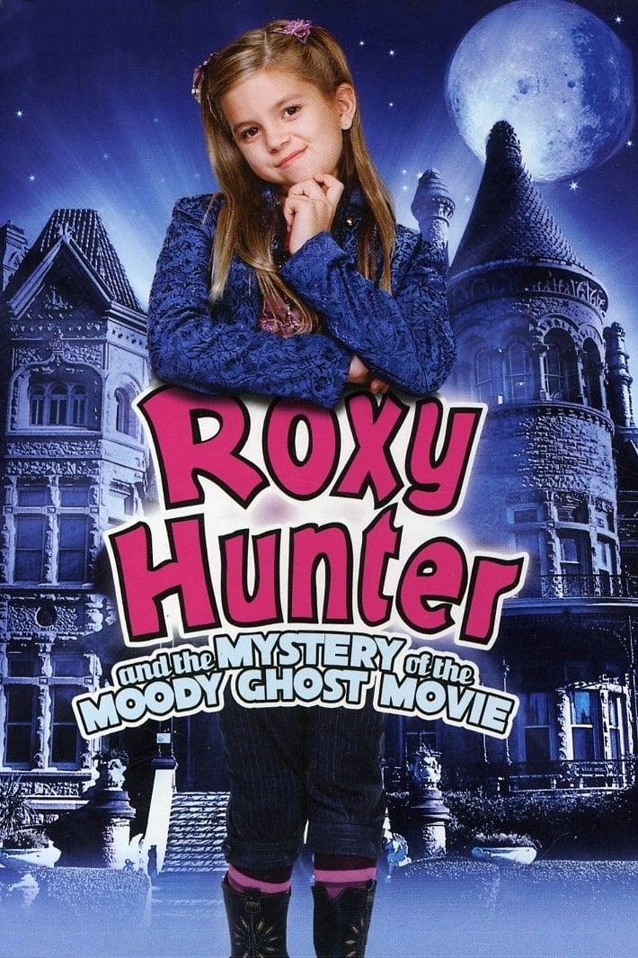 """Plakat von """"Roxy Hunter und der abgedrehte Geist"""""""