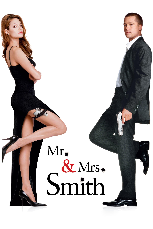 """Plakat von """"Mr. & Mrs. Smith"""""""